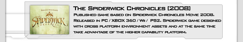Spiderwick Game